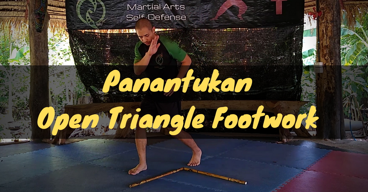 Panantukan Open Triangle Footwork